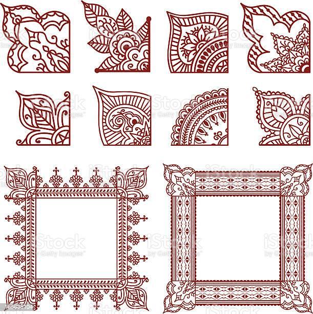 Mehndi Free Vector Art - (4,600 Free Downloads)
