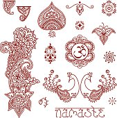 Mehndi Design Elements