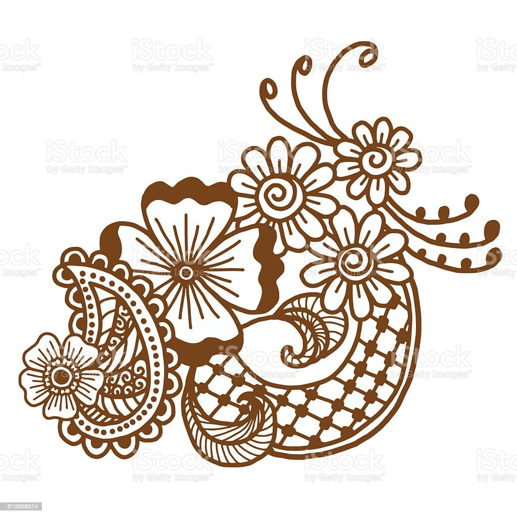 mehndi design patterns stock vector art more images of abstract rh istockphoto com