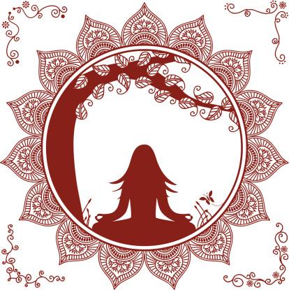 Mehndi Meditation Tree