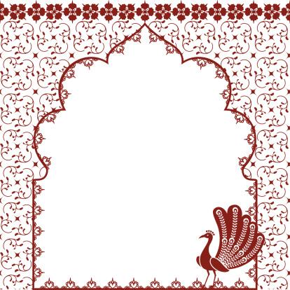Mehndi Peacock Arch