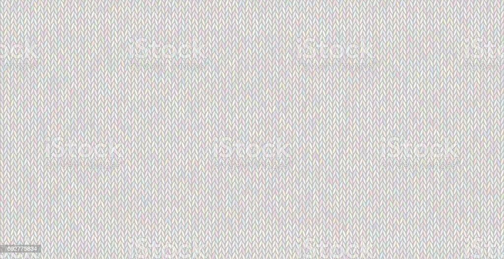 Fil de laine melange dans des couleurs pastel. - Illustration vectorielle