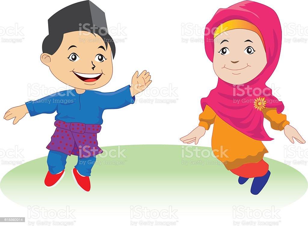 Malaysian People Clipart Royalty Free Malay Peo...