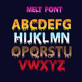 melt font set