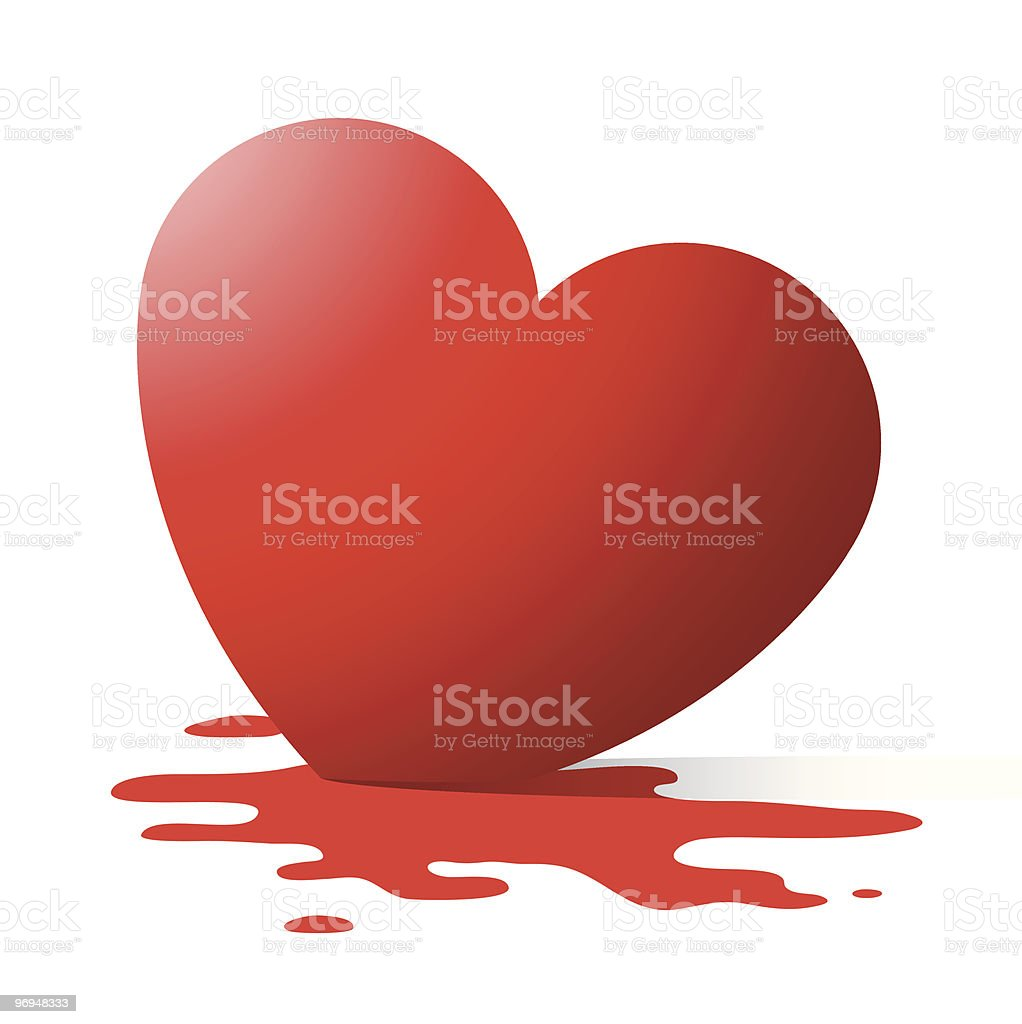 Melting heart royalty-free melting heart stock vector art & more images of art and craft