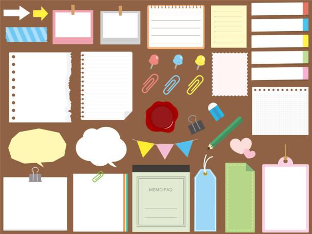 メモデザイン set3 - メモ点のイラスト素材/クリップアート素材/マンガ素材/アイコン素材