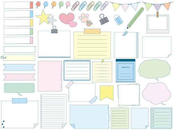 メモ design2 - メモ点のイラスト素材/クリップアート素材/マンガ素材/アイコン素材