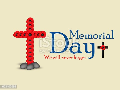 istock USA Memorial Day background 653405586