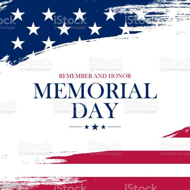 Memorial day greeting card with brush stroke background in united vector id1144493702?b=1&k=6&m=1144493702&s=612x612&h=wap6qvkzn1xytvz1i5ql4nwqtnusb0mszib hhmergm=