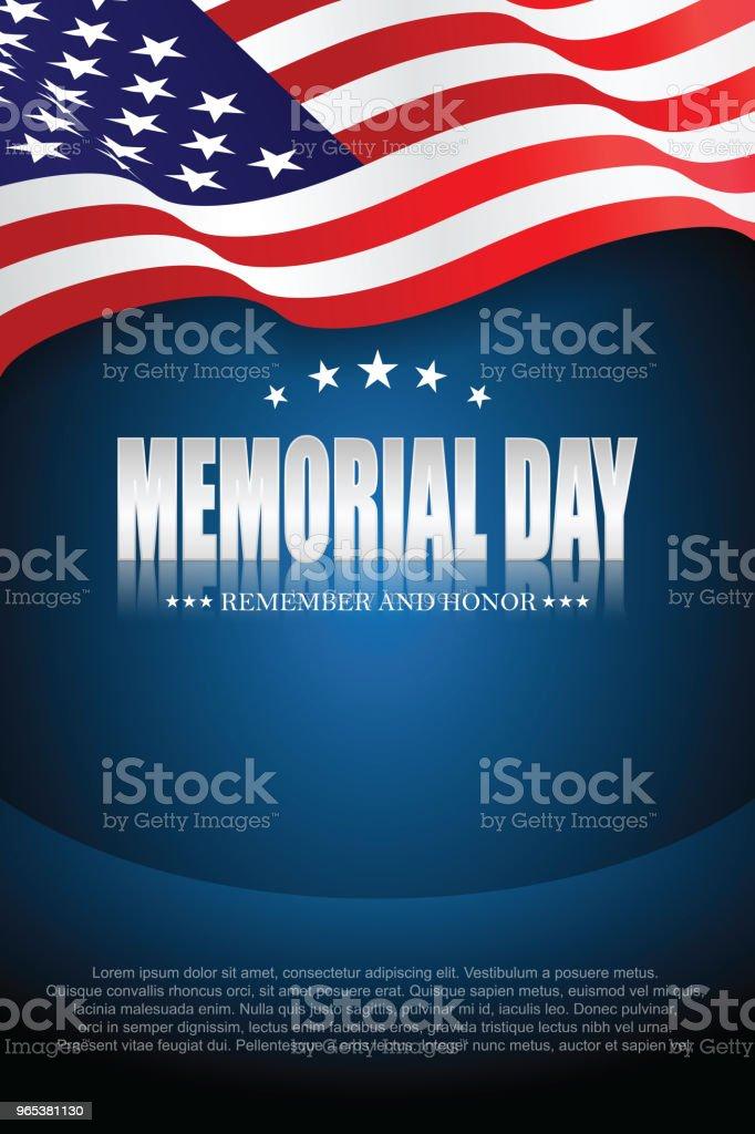 Dzień Pamięci. Pamiętaj i honoruj 10 - Grafika wektorowa royalty-free (Tło)