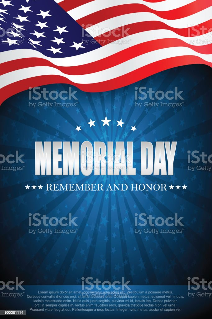 Memorial day. Remember and honor 4 royalty-free memorial day remember and honor 4 stock vector art & more images of backgrounds