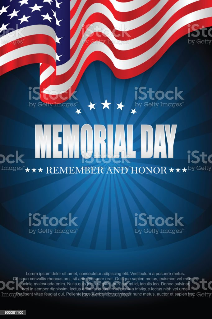Memorial day. Remember and honor royalty-free memorial day remember and honor stock vector art & more images of backgrounds