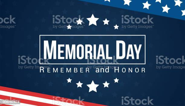 Memorial day remember and honor with usa flag vector illustration vector id956262874?b=1&k=6&m=956262874&s=612x612&h=hz42agpwj6ecxv6h jnorm7r8moyfwctpkaovrlju e=