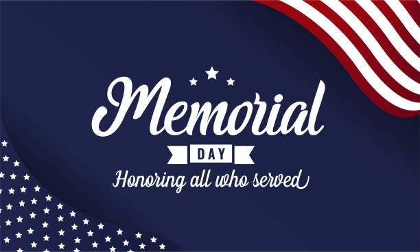 memorial day - memorial day stock illustrations