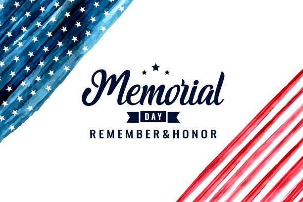 memorial day - memorial day stock illustrations