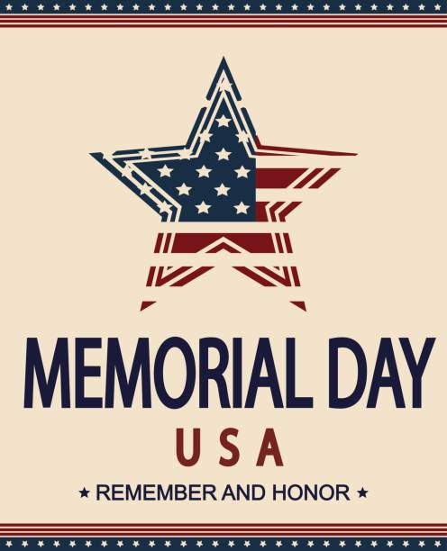 memorial day - memorial day stock illustrations, clip art, cartoons, & icons