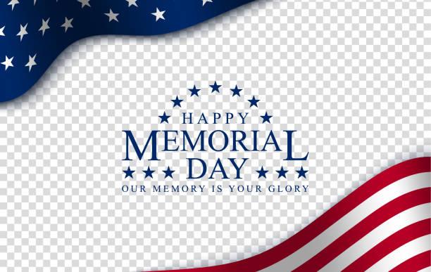 memorial day vector poster. - memorial day weekend stock illustrations