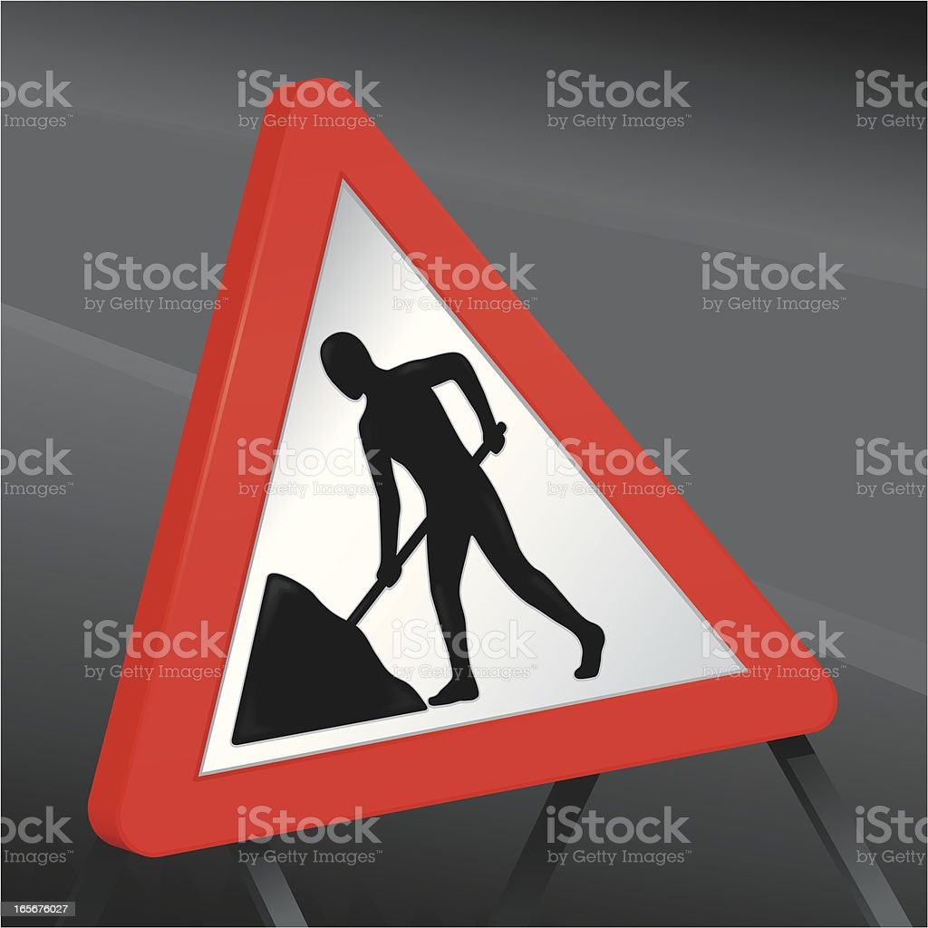 Men at work royalty-free stock vector art