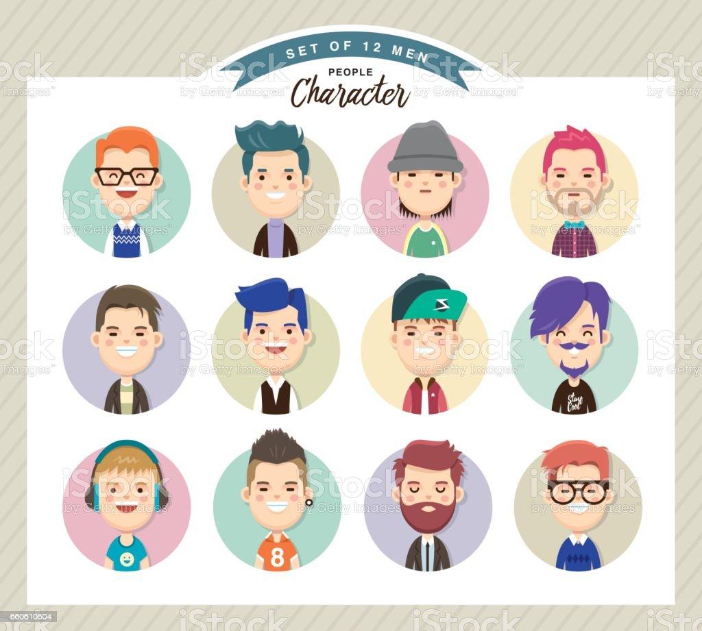 Men character design royalty-free men character design stock vector art & more images of adult