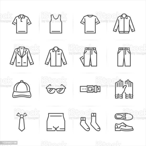 Men clothing icons vector id1035663196?b=1&k=6&m=1035663196&s=612x612&h=nyxg muhbb2a3npmbzw1 g83vpstrq4r6yua bjr4to=