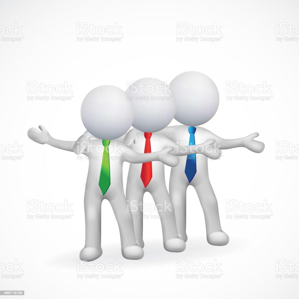 3d Men Friendship Business Icon Vector Stock Vector Art & More ... Free D Men on free abstract men, free people men, free animation men, free mobile men, celebrity men, desktop wallpaper men, leather men, diamond on hand tattoos for men, free army men, models men, free beautiful men, free funny men,