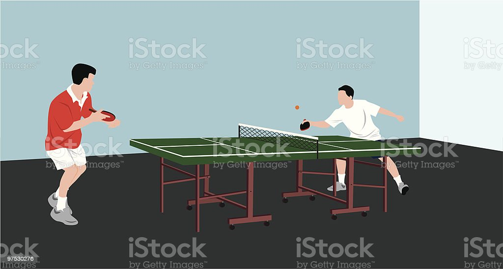 men playing table tennis royalty-free men playing table tennis stock vector art & more images of adult