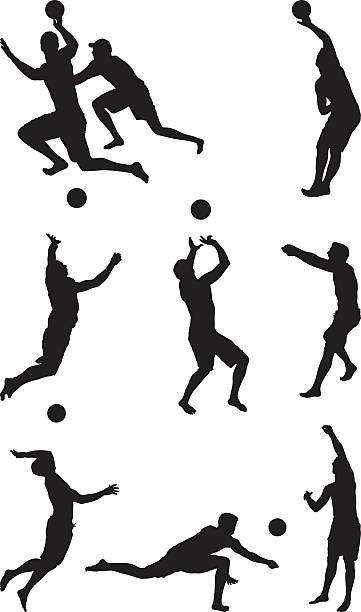 男性バレーボール - バレーボール点のイラスト素材/クリップアート素材/マンガ素材/アイコン素材