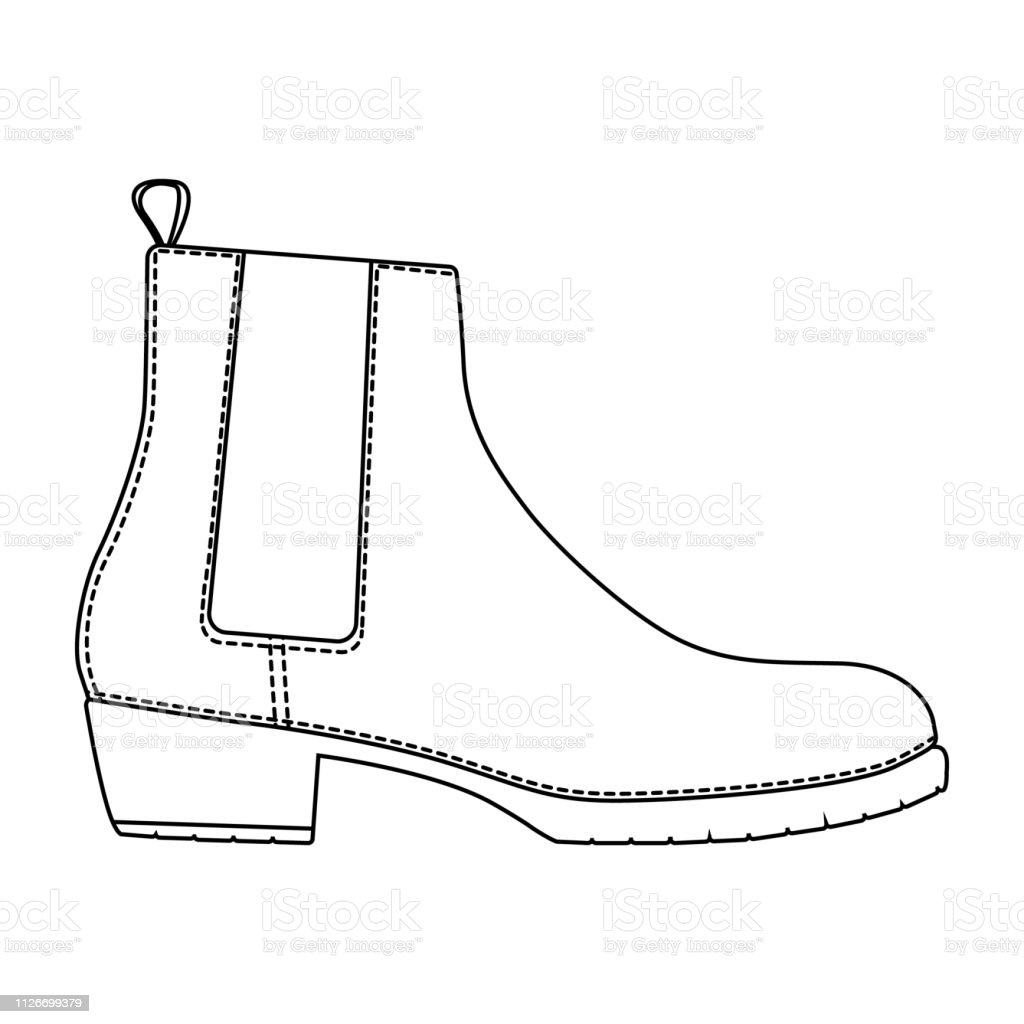 91087192d8 Men shoes boots isolated. Male man season shoes icons. - Illustration .