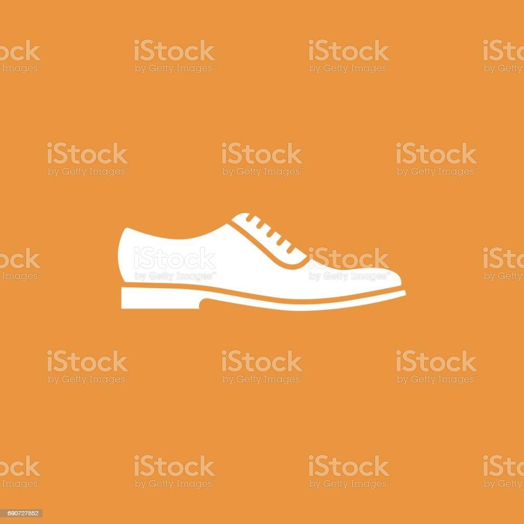 Men Shoes vector art illustration