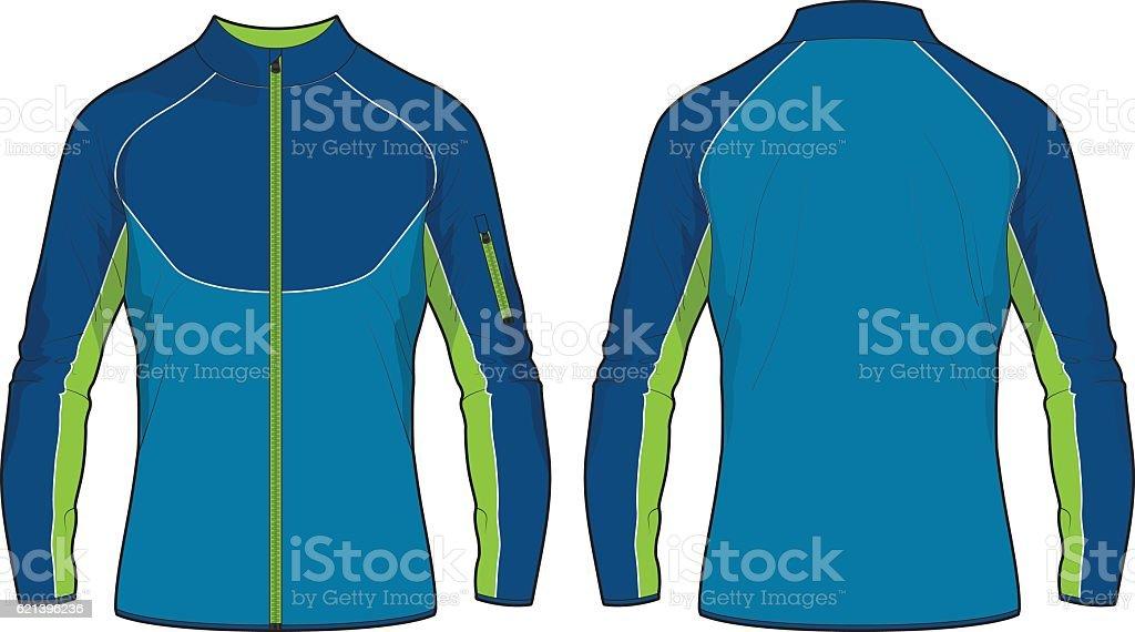 Men Sport Training Jacket Template Stock Vector Art More Images Of