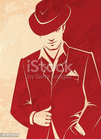 istock Men Wearing a Hat 472277579