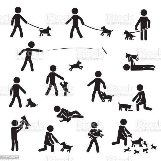 Men with small bread dogs icon set vector vector id1142409421?b=1&k=6&m=1142409421&s=612x612&h=h3aiqeq54an5tlj lwddahzdyexucp7vkl4hharbt48=