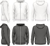 Men zip hoodie