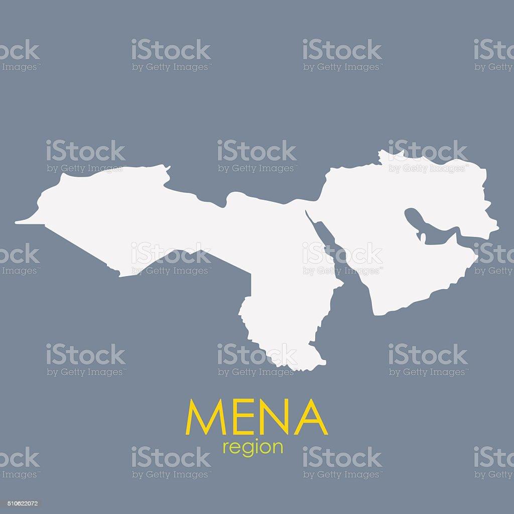 Mena region map vector illustration stock vector art more images mena region map vector illustration royalty free mena region map vector illustration stock vector art gumiabroncs Choice Image