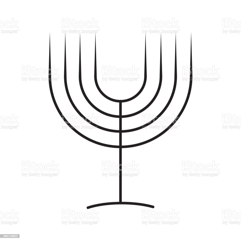 menorah line icon royalty-free menorah line icon stock vector art & more images of azerbaijan
