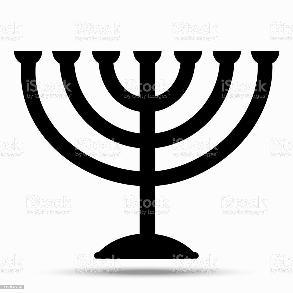 Menorah Symbol Of Judaism Stock Vector Art More Images Of