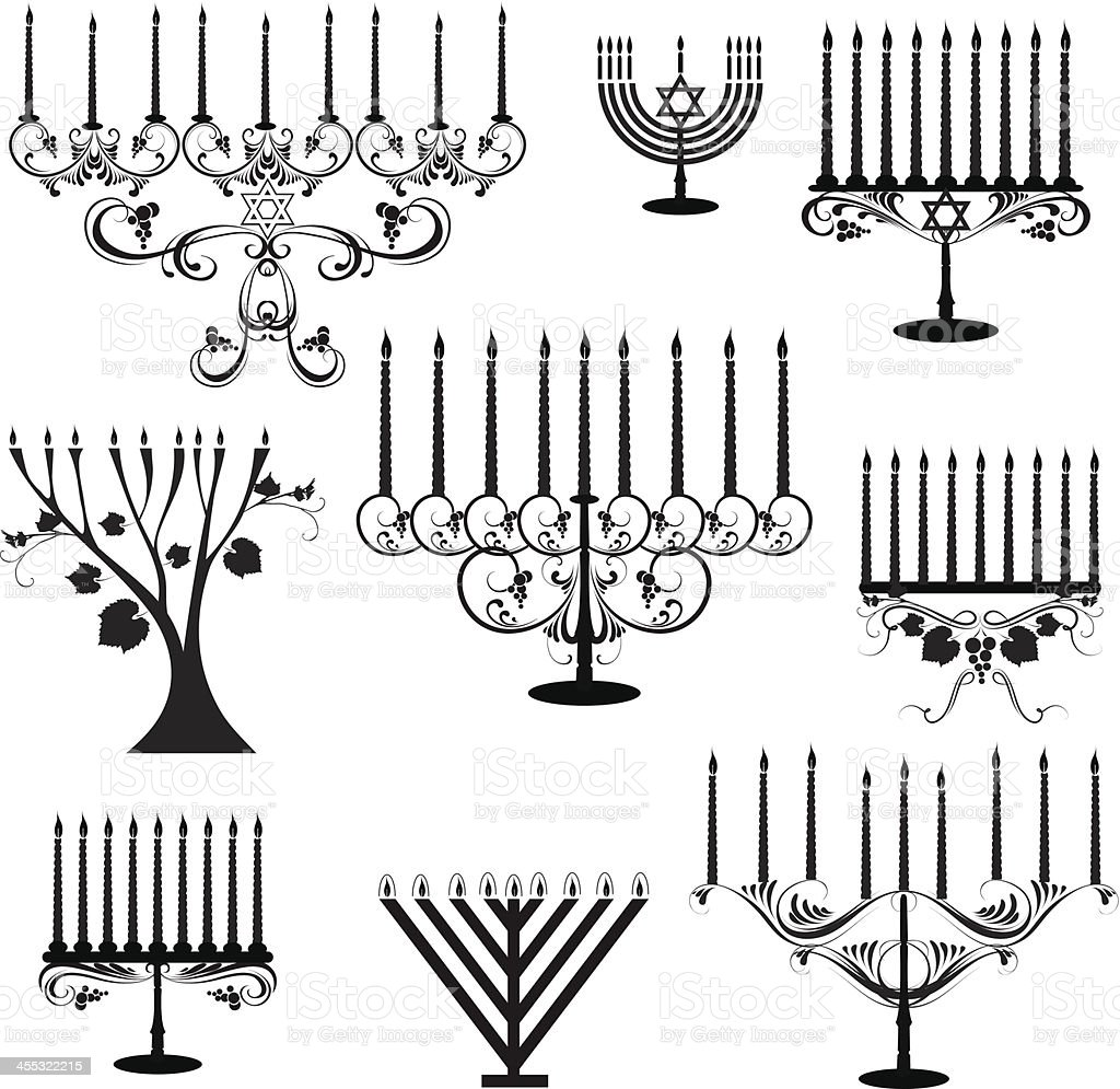Menorah royalty-free menorah stock vector art & more images of candle
