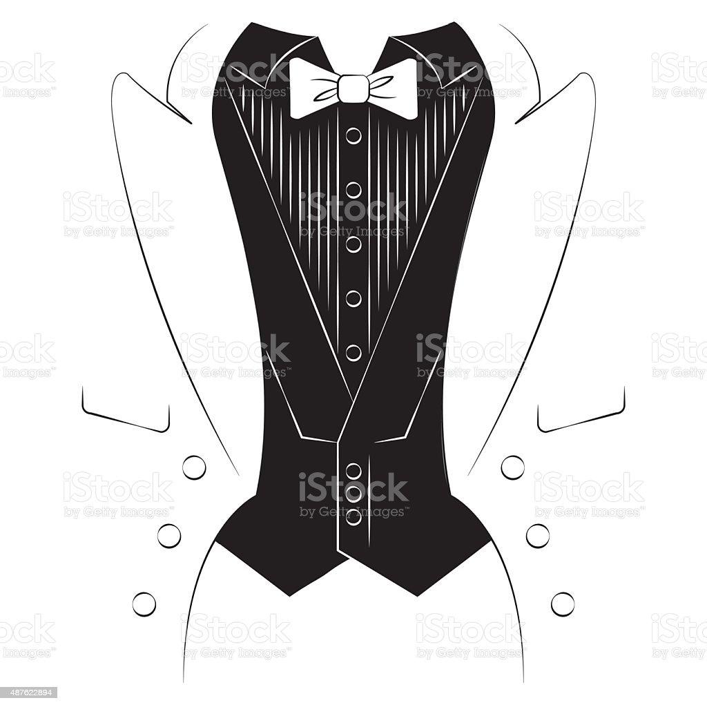 Vetores De Masculino Mao Com Uma Camisa E Gravata Imprimir Em