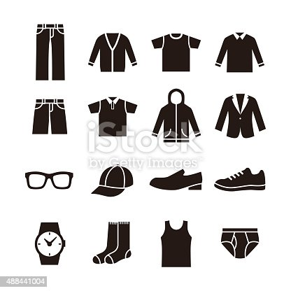istock Mens fashion icon 488441004