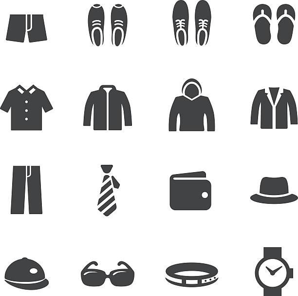 メンズファッションアイコン-acme シリーズ - 靴のファッション点のイラスト素材/クリップアート素材/マンガ素材/アイコン素材