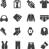 Mens Formal Wear Silhouette Icons