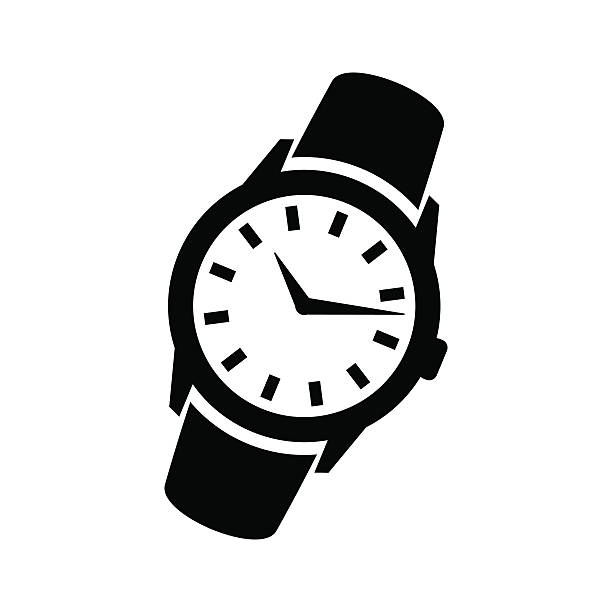 Royalty Free Wrist Watch Clip Art, Vector Images ...