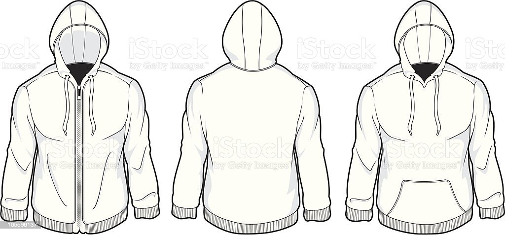 mens hood fleece royalty-free mens hood fleece stock vector art & more images of adult