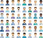 Men's medical avatars