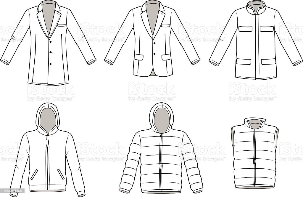 royalty free bomber jacket clip art vector images