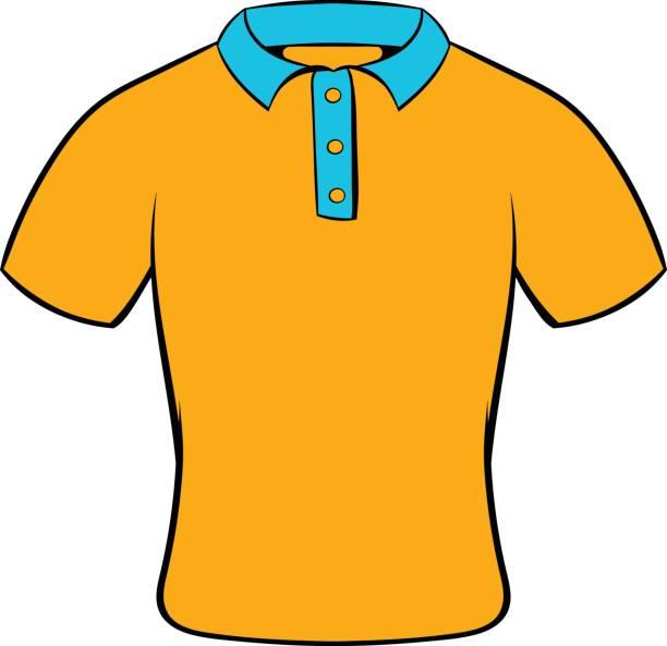 Royalty Free Polo Shirt Flat Clip Art, Vector Images ...
