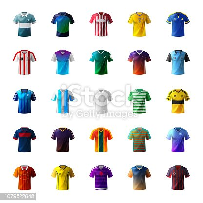 Shirt, Clothing, T-Shirt ,Soccer, Sport,  USA