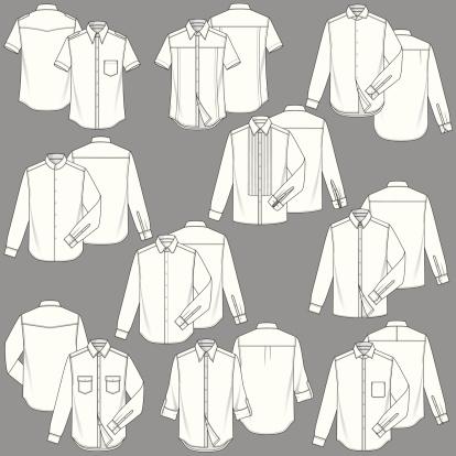 Mens Shirt Fashion Templates