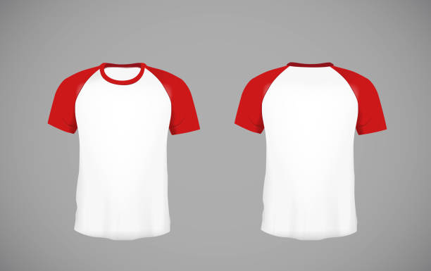 Royalty Free Baseball Tee Template Clip Art, Vector Images ...