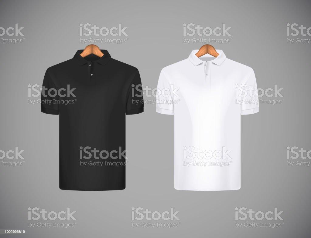 4a59df8ea0 Camisa de polo de manga corta de la delgado-guarnición de los hombres.  Camisa
